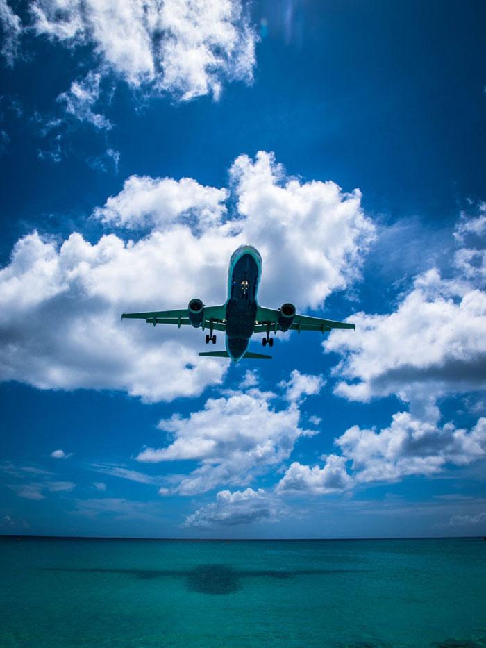 airbus landing in sxm st maarten