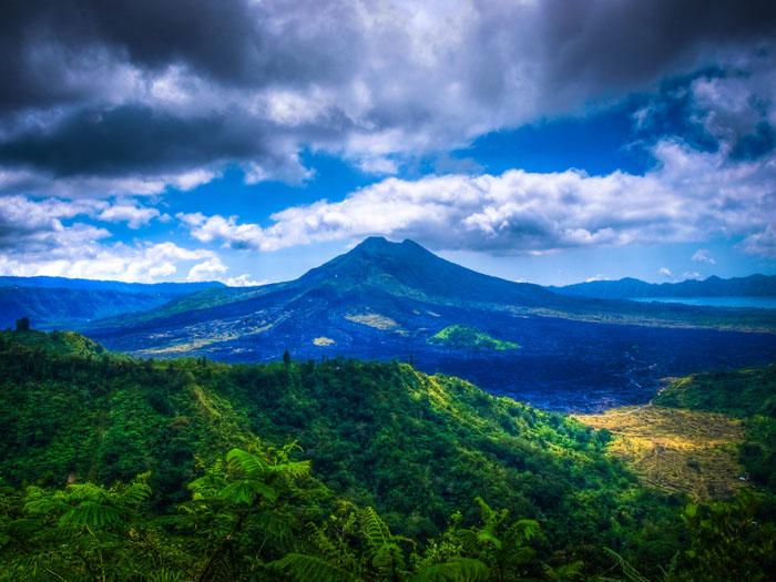 bali mountain volcano