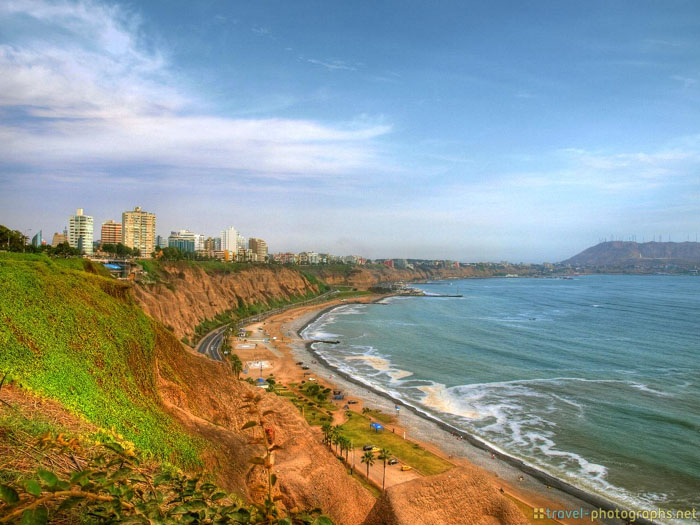lima coast miraflores peru hdr tripod gallery