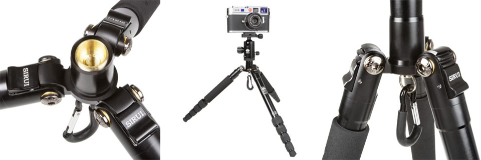 sirui t-005x most lightweight tripod