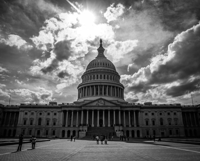capitol black white