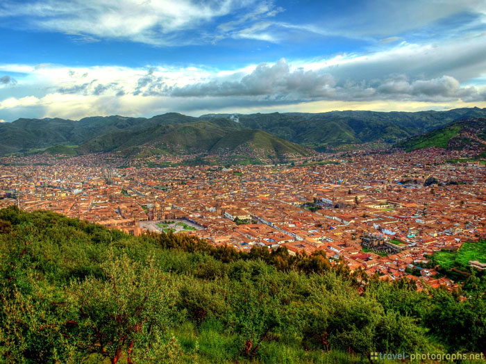 peru cuzco from above hdr