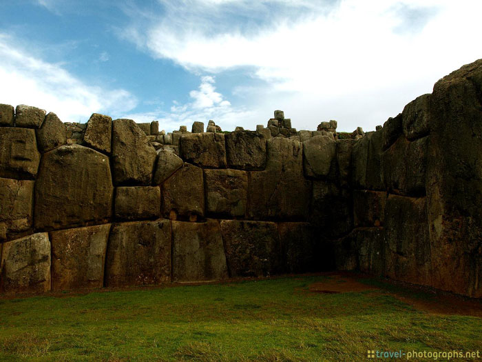 sacsayhuaman ruins near cuzco peru