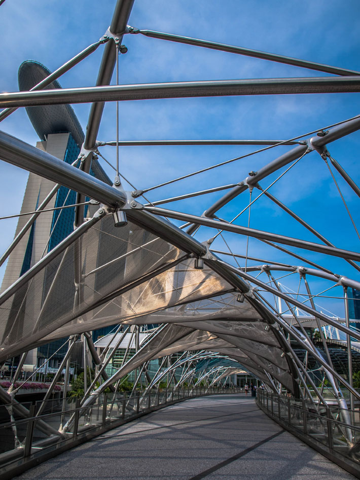 singapore helix bridge tripods gallery